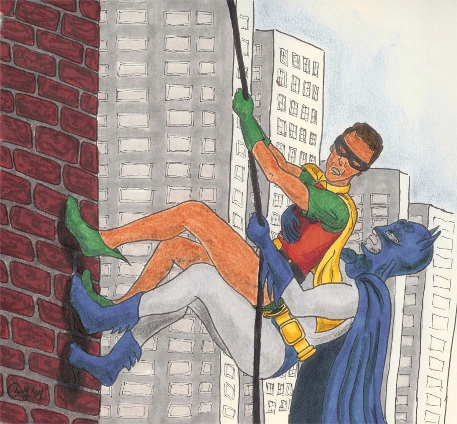 Batman and robin gay art
